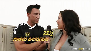 Brazzers - Busty sports reported Veronica Avluv Gang-banged
