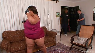 His beamy black cock was all this BBW needed to get satisfied